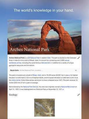 Wikipedia para iOS se actualiza con nuevas funciones   iPad classroom   Scoop.it