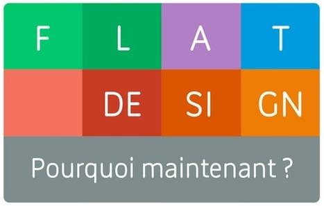 Influencia - à ne pas manquer - Flat design. Pourquoi maintenant ? | Design | Scoop.it