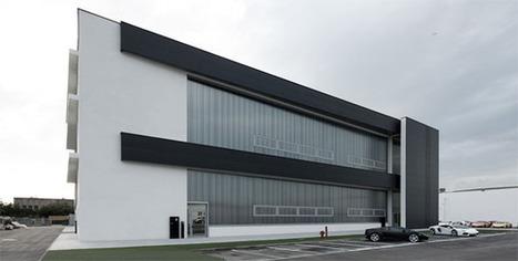 Edificio ad impatto zero per il nuovo stabilimento Lamborghini | scatol8® | Scoop.it