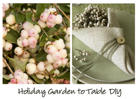 Garden to Table- Simplfy the Holiday DIY | Miss Rumphius' Rules | Mise and Plus+ | Scoop.it