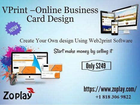 Creative online business card-zoplay | Wanelo clone script | Scoop.it