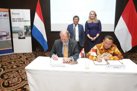 Rotterdam Port to Take Part in Developing Two Indonesian Ports   Marine Innovation   Scoop.it