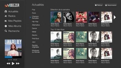 Deezer arrive sur les TV et lecteurs Blu-ray connectés LG ! | musique enregistrée et arts vivants | Scoop.it