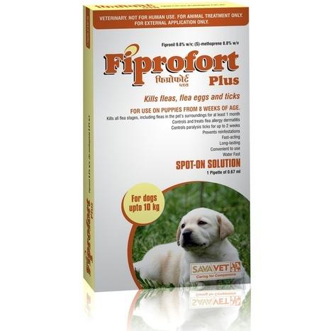 Fiprofort plus Spot on (Dogs) - Fipronil 9.8%w/w+ (S)-Methoprene 8.8%w/w (0.67ml x 1) | Veterinary Medicines | Scoop.it
