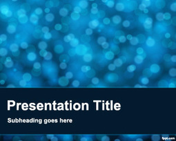 Blur Powerpoint Template Design | Free Powerpoint Templates | sanskriti | Scoop.it