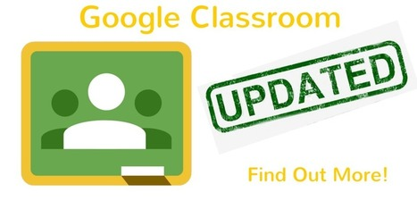 EdTechTeam: Hurray for Google Classrooms New Mobile Updates! | New Web 2.0 tools for education | Scoop.it