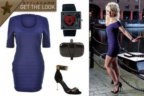 Get The Look: Jorgie Porter | StyleCard Fashion Portal | StyleCard Fashion | Scoop.it