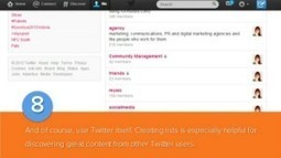 Social Media Optimization: Finding Great Twitter Content | ThinkinCircles | Scoop.it