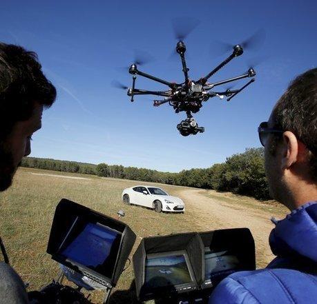 Pays d'Aix : le marché des drones prend de la hauteur | Fédération Belge du Drone civil | Scoop.it
