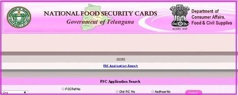 Telangana New Aahara Bhadratha cards status and List district wise | Aadhaar Card | Voter Id Card online Enrollment 2014 | Scoop.it