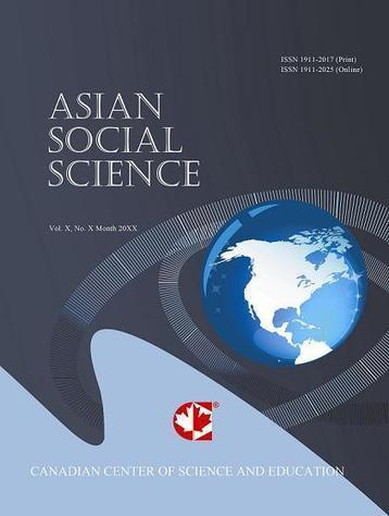 Asian Social Science new issue, honoured to be a member of the editorial team | ICT in Education | Scoop.it
