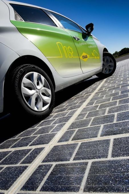 Bouygues invente la «route solaire» qui produit de l'électricité | Digital Services | Scoop.it