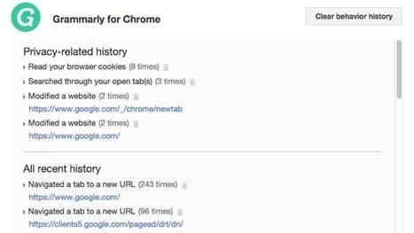 Chrome : une extension qui montre ce que font les autres | Libertés Numériques | Scoop.it