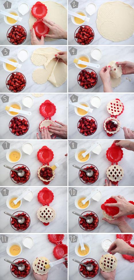 Strawberry Pocket Pies | All Sorts of Pretty | Food: Desserts | Scoop.it
