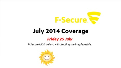 July Coverage (25th) | F-Secure Coverage (UK) | Scoop.it