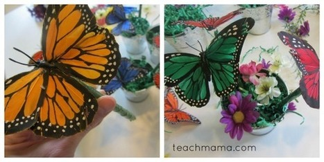 how to make butterfly pens: a sweet spring garden gift | Art Scoops | Scoop.it