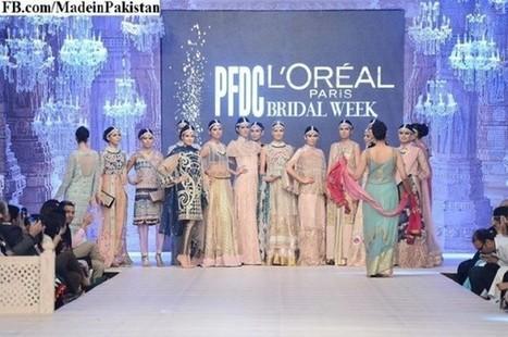 Dresses Saira Shakira PFDC L'Oréal Paris Bridal Week 2014 | Fashion | Scoop.it
