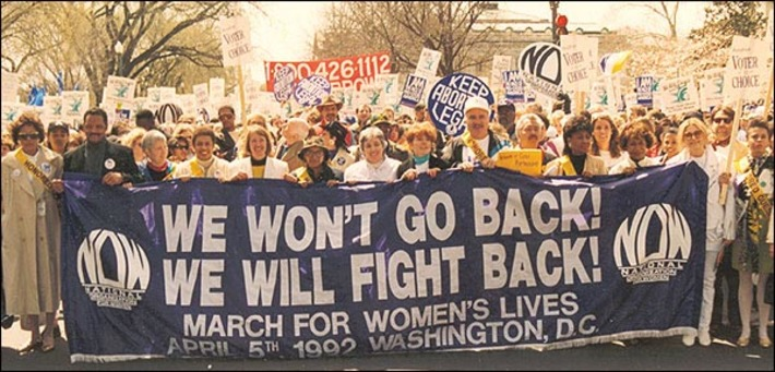 March for Women's Lives, April 1992 | Herstory | Scoop.it