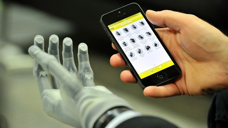 Prosthetic Hand Controlled With iOS App [VIDEO]   Health Studies Updates   Scoop.it