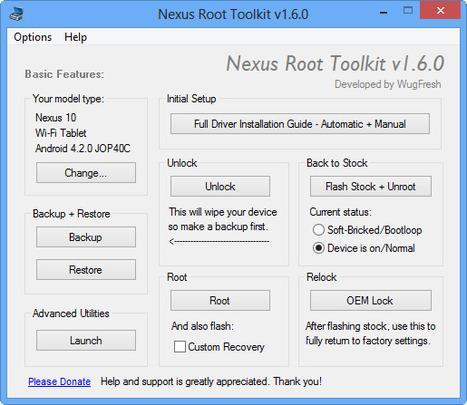 Unico tool : Désimlockez et rootez vos appareils Nexus très facilement - FrAndroid | netnavig | Scoop.it