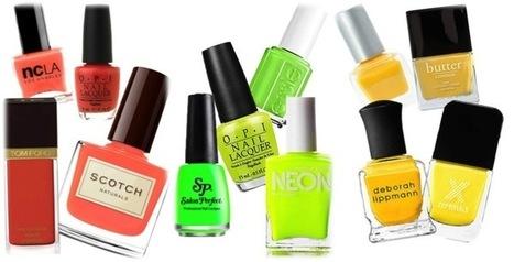 Summer Nail Art Designs - Bright Nail Polish Colors | Beauty and Hairstyles | Scoop.it