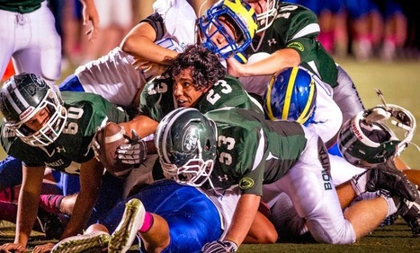 Paint the Smudge pot green again; Angel Verdugo leads Bonita to a 23-9 win over San Dimas | Best High School Sports Blog | san dimas ca | Scoop.it