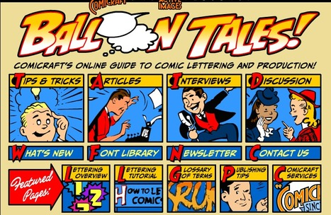 Balloon Tales | Comicraft's Online Guide to Comic Lettering and Production | ILLUSTRATION-DRAWING | Scoop.it