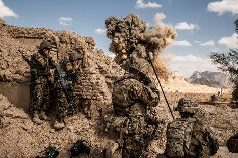 U.S. Troops Leave Afghan Outposts, Still Facing Fire | The Defense & Aerospace Forecast | Scoop.it