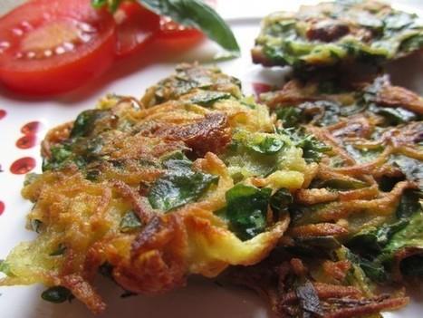 Galette de pomme de terre, arroche et tomate séchée | Alimentation Ressourçante | Scoop.it