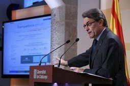 """President Mas: """"El portal de la transparència dóna compliment a un dels nostres compromisos per a la regeneració democràtica"""" - Sala de premsa.Generalitat de Catalunya   Govern obert   Scoop.it"""