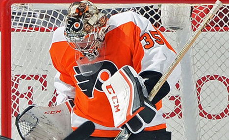 Change of scenery has revived the career of Philadelphia Flyers goaltender Steve Mason | Hockey | Scoop.it