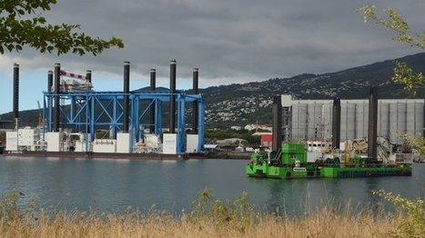 La méga-barge Zourite sera opérationnelle début juin | Habiter La Réunion | Scoop.it