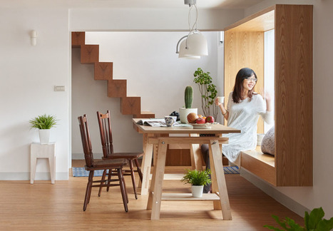 Encadrement de fenêtre ou siège avec vue | Arkitektura xehetasunak | Scoop.it