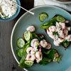 Shrimp and Cucumber Salad with Horseradish Mayo | À Catanada na Cozinha Magazine | Scoop.it