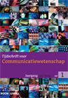 Nieuw aflevering Tijdschrift voor Communicatiewetenschap   Media and Communication   Scoop.it
