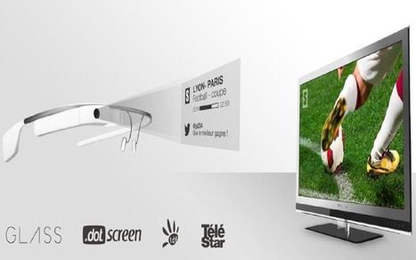 Telestar lance une « expérience télévisuelle sociale et enrichie » sur Google Glass   mySocialTV   Scoop.it