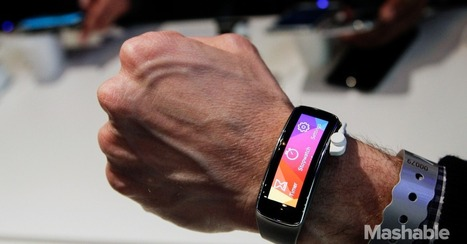 Samsung Gear Fit: The Most Promising Wrist Wearable to Date | smartwatch | Scoop.it