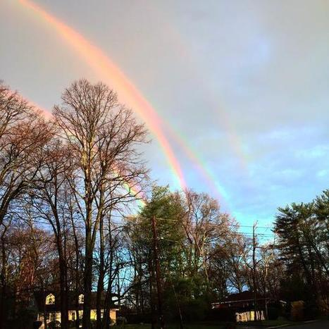 Incredibly Rare Quadruple Rainbow Recently Seen in New York | Le It e Amo ✪ | Scoop.it