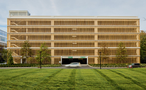 Building 347 Parking Garage: Bamboo + Innovation by Vittorio Lampugnani | sustainable architecture | Scoop.it