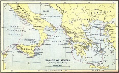 El Mito de Eneas y la Eneida de Virgilio ~ La Historia con Mapas | LVDVS CHIRONIS 3.0 | Scoop.it