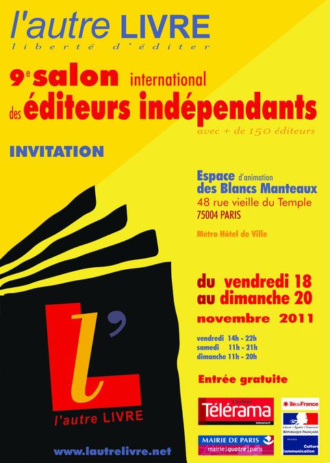 L'autre livre [Salon des éditeurs indépendants] | Poezibao | Scoop.it