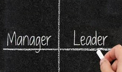 Management vs Leadership. What's the difference? | Business Support | Scoop.it