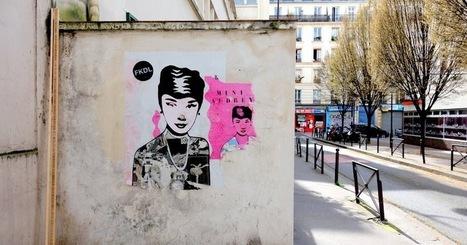 Sunday Street Art : FKDL - passage Hébrard - Paris 10   Paris la douce   Richard and Street Art   Scoop.it