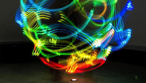 Dazzling beams of light map invisible Wi-Fi networks | Light & Science | Scoop.it
