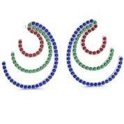 Buy White Gold Hoop Earrings Online in India | Online Shopping | Scoop.it