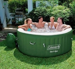 Review Coleman Lay-Z Spa Inflatable Hot Tub   The Arts Of Healthy Care   Scoop.it