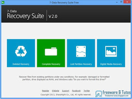 Offre promotionnelle : 7-Data Recovery Suite gratuit ! | Freewares | Scoop.it