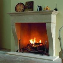 Marseilles Marble & Limestone Fireplace Mantel | Fireplace Glass Doors | Scoop.it