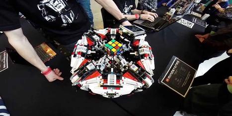 Robot de LEGO rompe el récord mundial del cubo de Rubik   Aprendizaje con TIC   Scoop.it