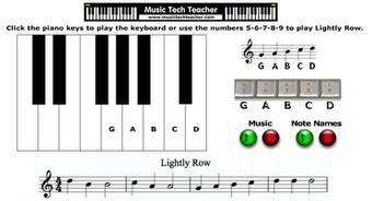 Free Technology for Teachers: Online Music Lessons, Quizzes, and Games | Scott's Stuff | Scoop.it